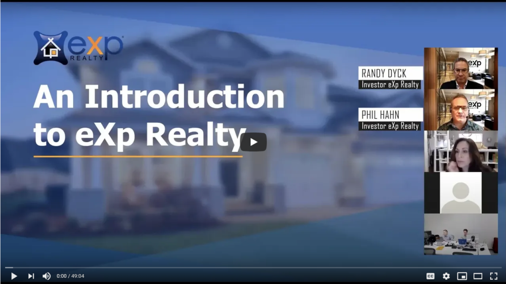 Webinar: Introduction to eXp Realty